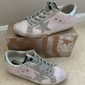 Light Pink Golden Goose Deluxe Brand Size 40